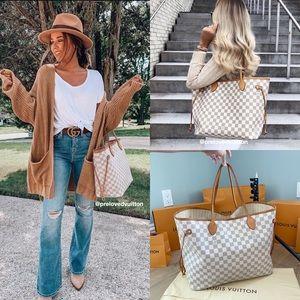 🌟NEVERFULL GM🌟Louis Vuitton Damier Azur Bag
